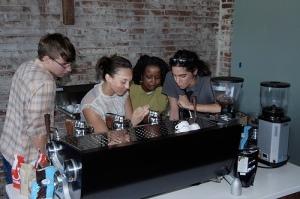 At Slayer Espresso in Georgetown